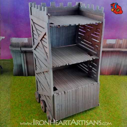 Rolling Siege Tower for Kings of War
