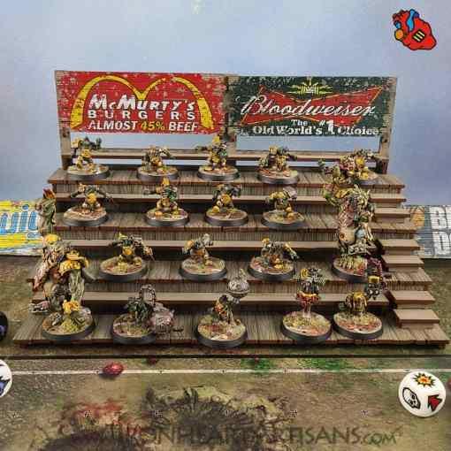 Blood Bowl Bleachers / Stands