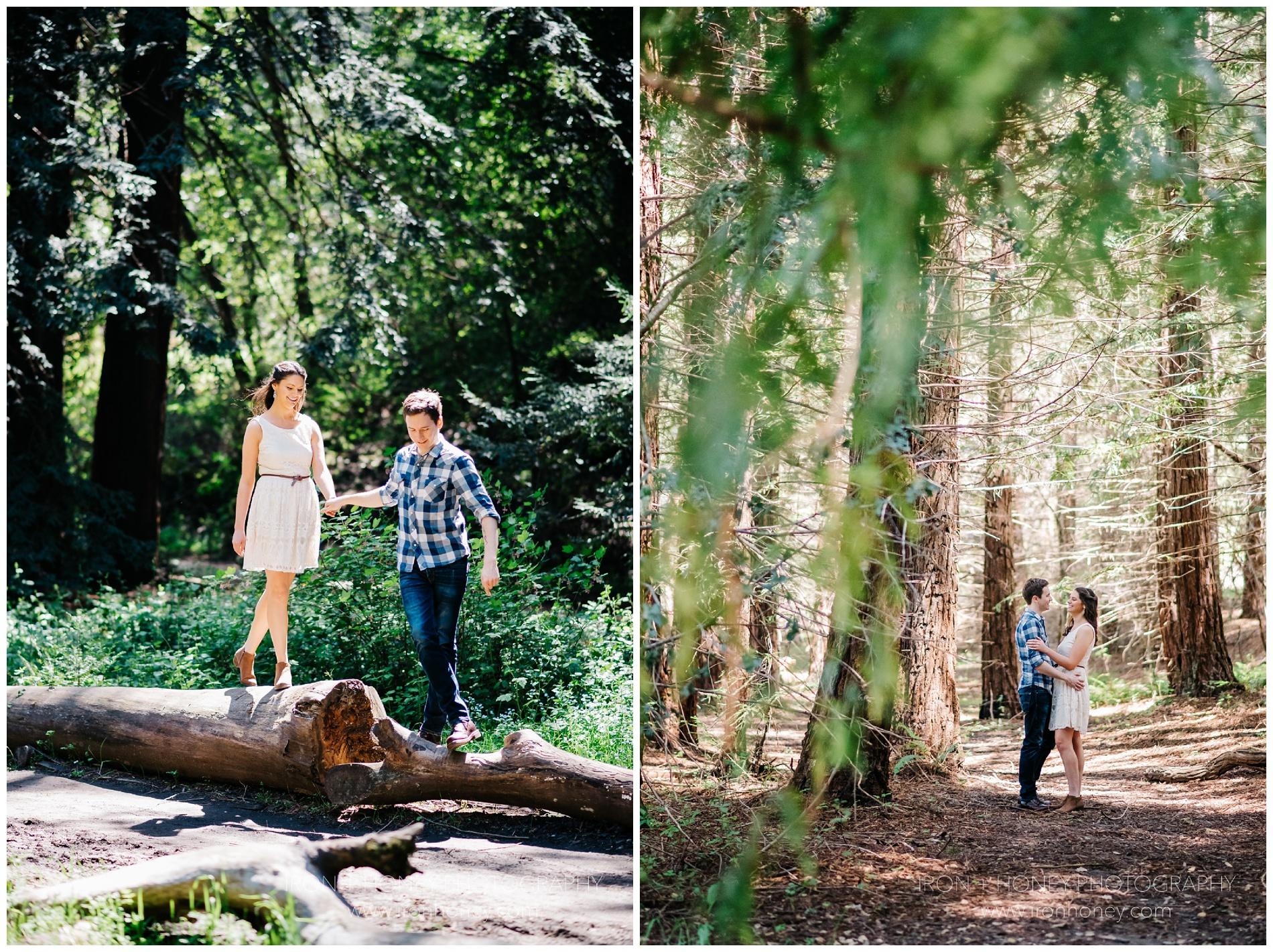California Redwood Forest Sutro Baths Chicago Wedding
