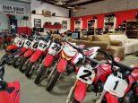 Honda CRF motocycles