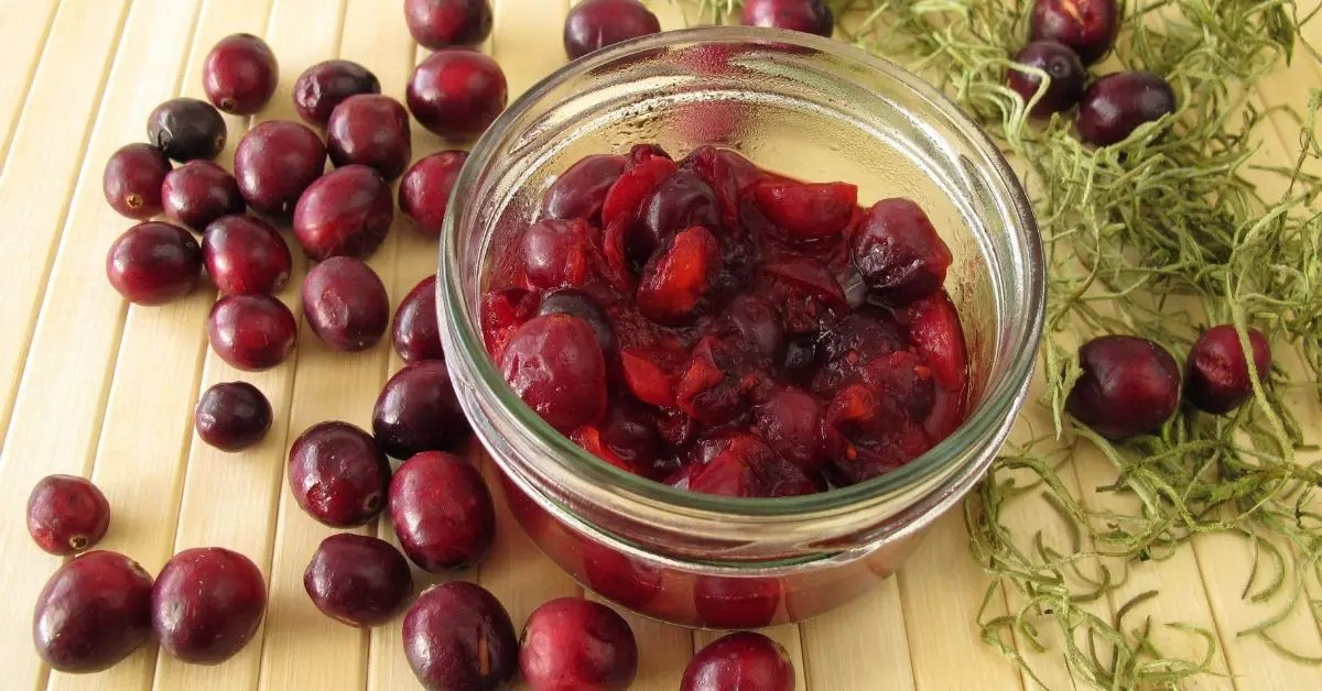 Zinfandel-Cranberry Compote