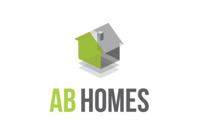 AB Homes Logo Design