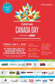 City of Lloydminster Canada Day 2017 Printed Poster