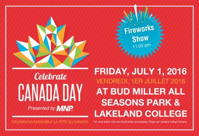 City of Lloydminster Canada Day 2017 Social Media Post
