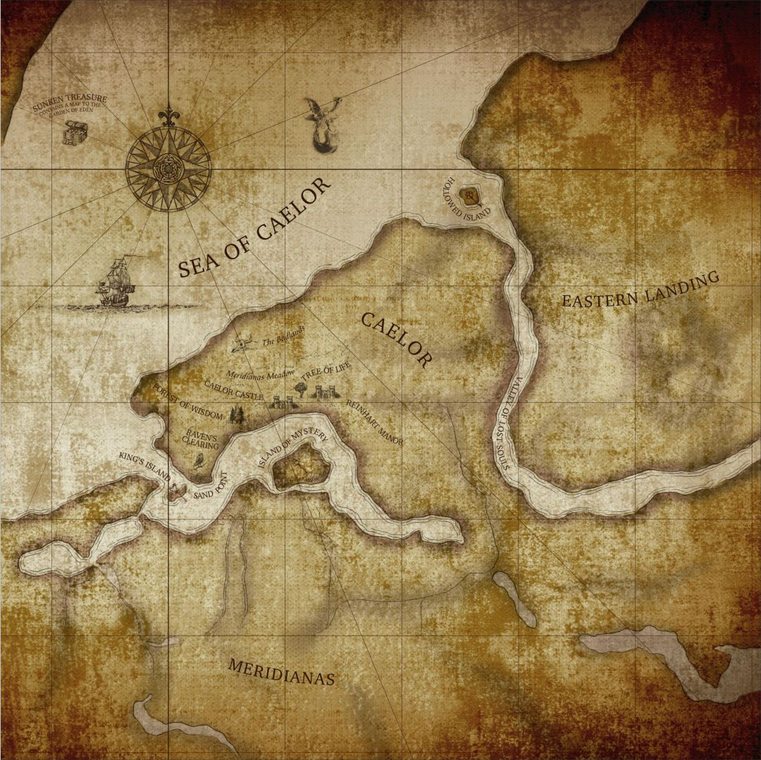 Custom Illustration Caelor Map