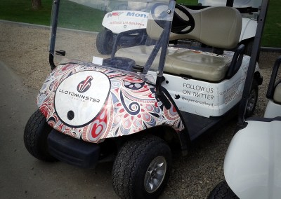 Golf Cart Wraps: LGCC