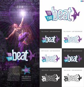 To the Beat Early Logo Concept 2a