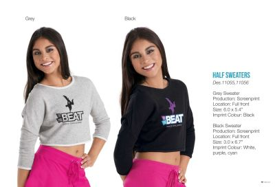To the Beat Half Sweater