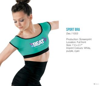 To the Beat Sport Bra