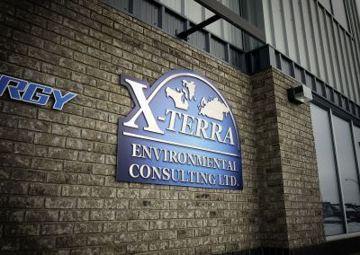 Building Sign: X-Terra Environmental Consulting