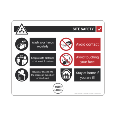 Ironjet COVID Sign Site Safety Rules 2 510 px