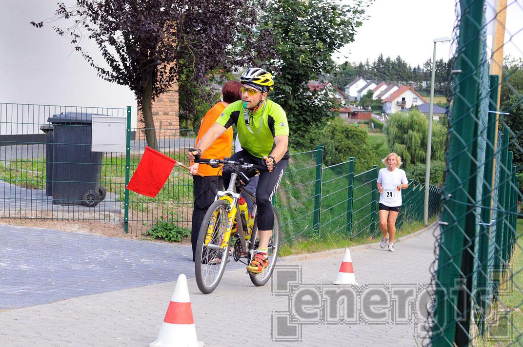 Radeskorte beim Kommunenlauf 2008