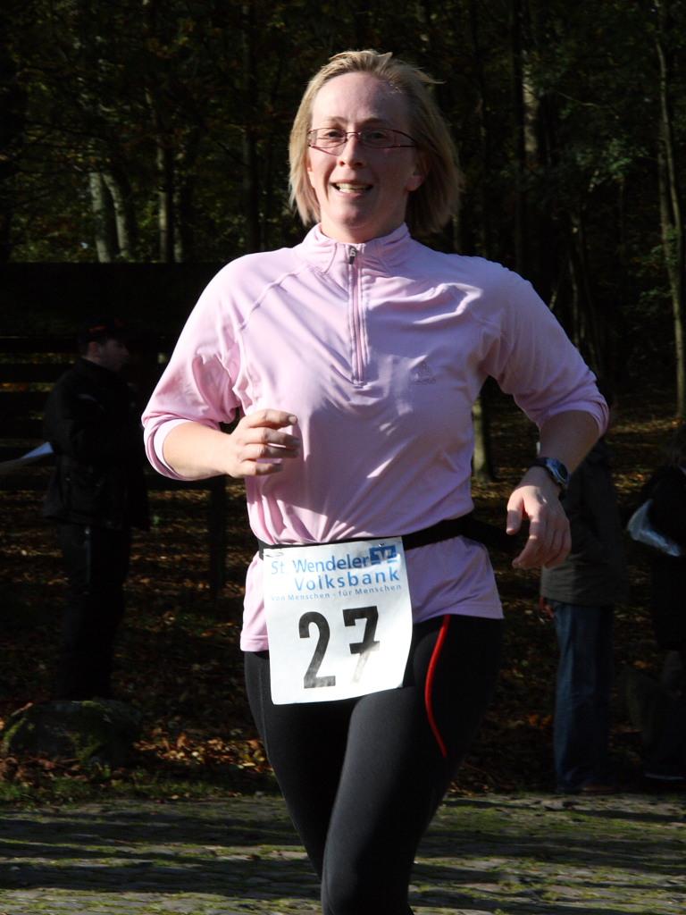 Schaumberglauf 2008 Zieleinlauf Sprintmaus