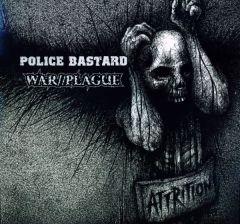 Police Bastard / War//Plague - Attrition (Split LP on Vinyl)