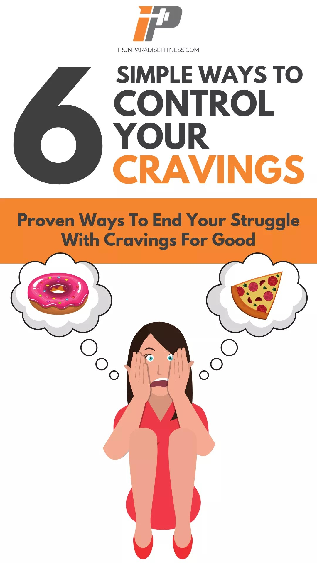 COVER 6 SIMPLE WAYS TO CONTROL YOUR CRAVINGS