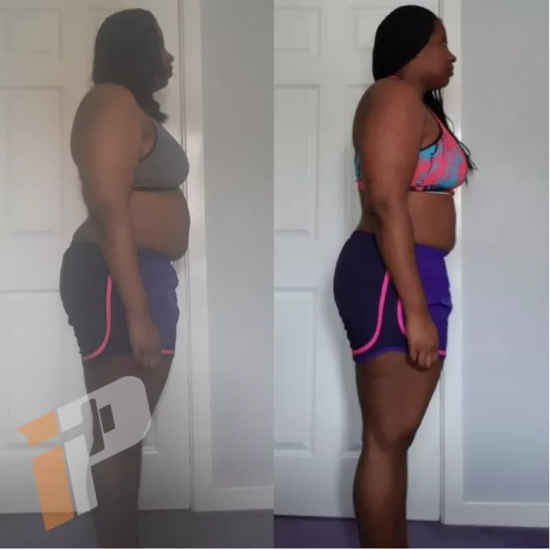 Erika McRae Body Transformation