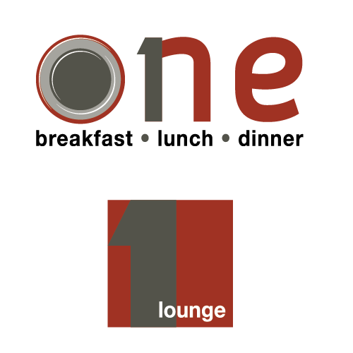 Logo Design - One Restaurant and Lounge