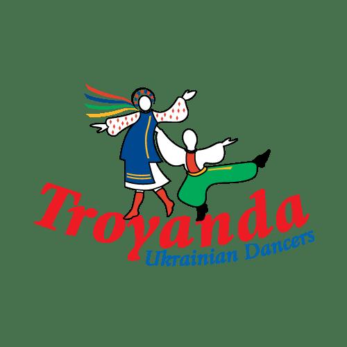 Logo Design - Troyanda Ukrainian Dancers