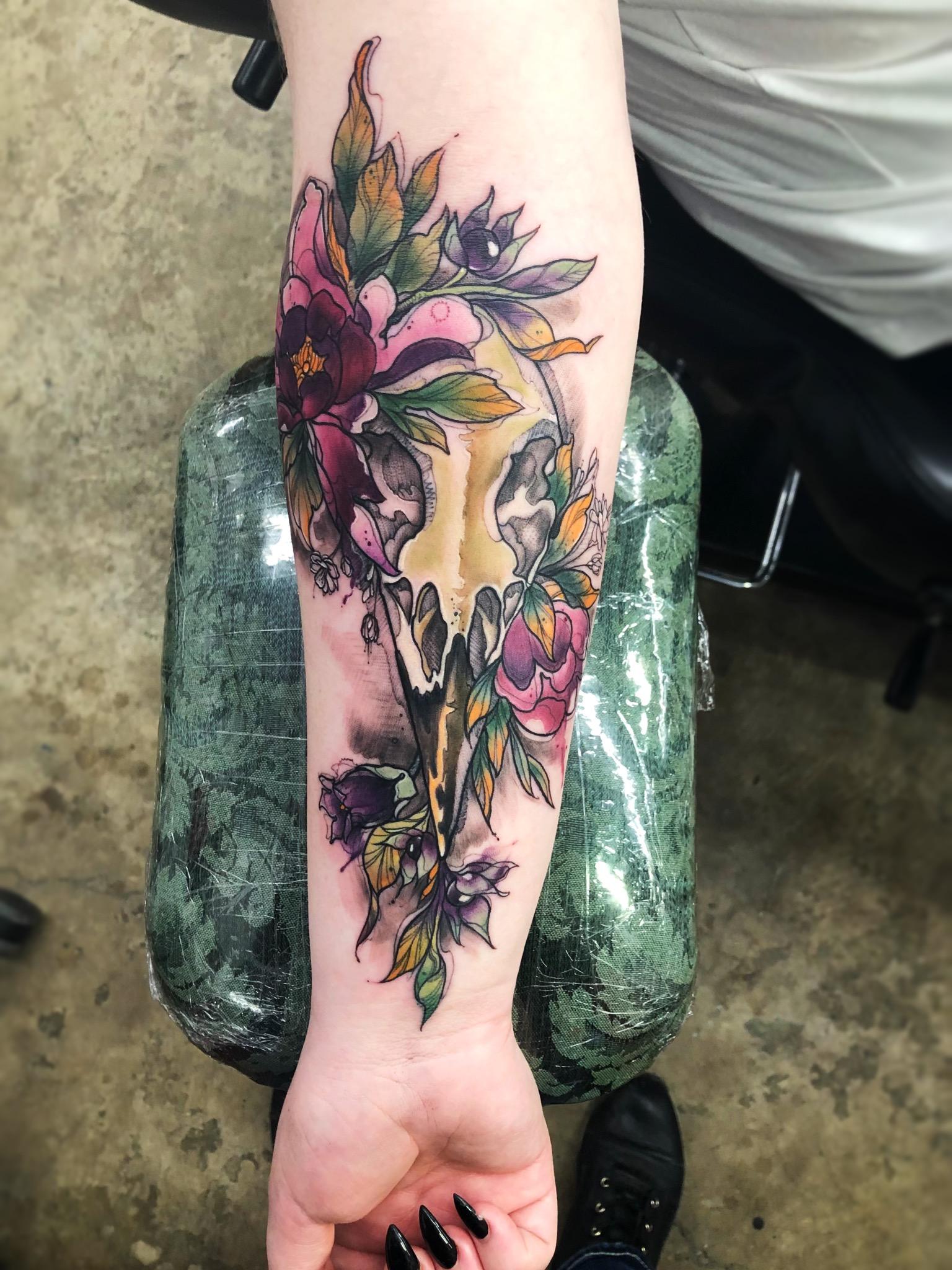 Award Winning Tattoo Artist in Sicamous