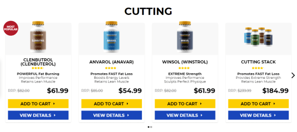 Legal supplements like steroids