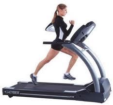 run training on a treadmill