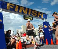 what causes fear   -triathlon finish line