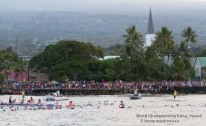 Swim start Ironman Hawaii 2012