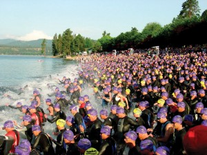 I love the Ironman Triathlon but sure hate swimming