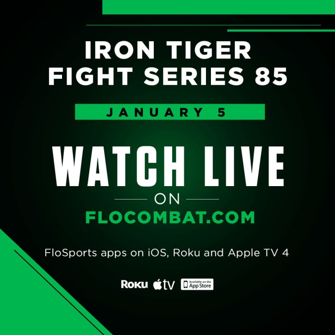 Iron Tiger Fight Series 85 Live on FloCombat