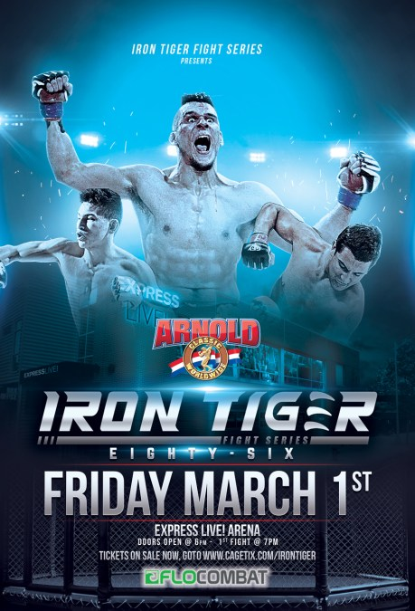 IRON TIGER back at the ARNOLDS
