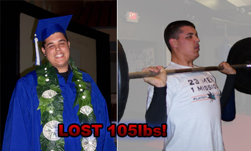 Tim - Lost over 105 lbs. on Ironwill Fitness