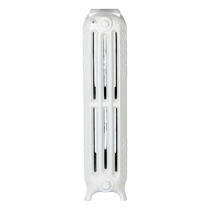 Ironworks Radiators Inc. roll top, decorative, embossed radiator