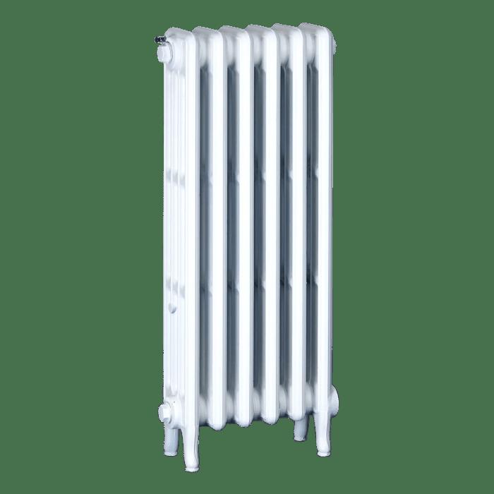 Ironworks Radiators Inc. refurbished cast iron radiator Scotchdale in White