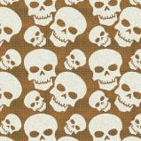 Skull Illustration Pattern Design