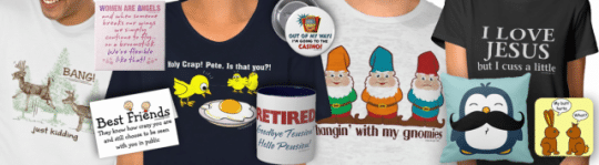 Irony Design's Fun Shop on Zazzle