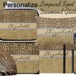 Leopard Spot Glitter Gifts