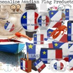 Flag of Acadia Personalized | Acadian Flag With Your Last Name Products