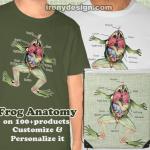 The Frog's Anatomy Design Merchandise