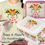 Bees and Hearts Products