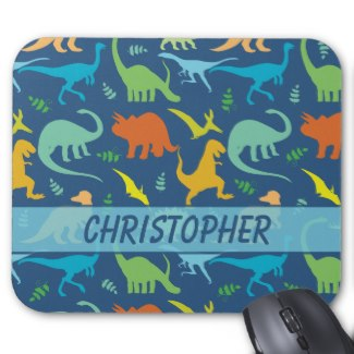 Colorful Dinosaur Pattern Merchandise