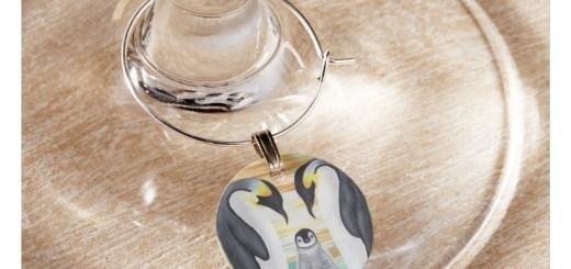 Custom and Novelty Wine Glass Charms