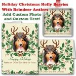 Christmas Reindeer Antlers Custom Photo Gifts
