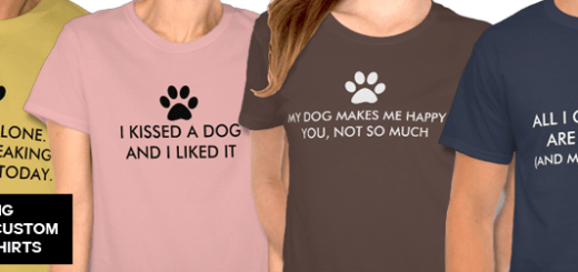 Dog Slogan T-Shirts