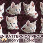 Kitty Cat Pattern Gift Products