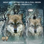 Wolf Full Moon Gifts – Wild Animal Photography Product