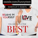 Inspirational Typography Shirts