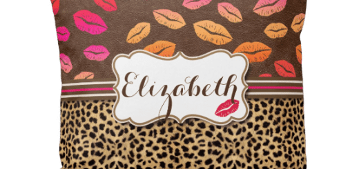 Leopard Print Kiss Gifts for Her