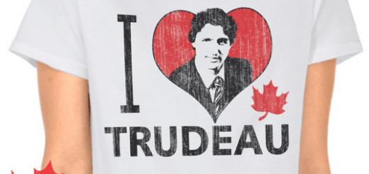 I Heart Trudeau Gifts and Merchandise