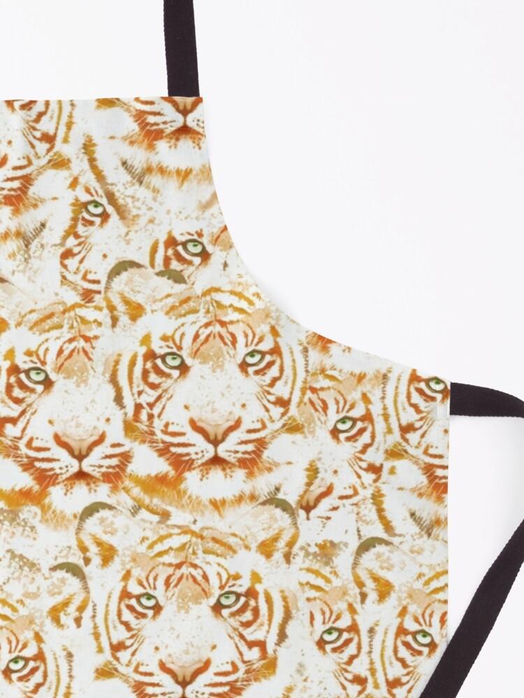 Tiger Face Design Pattern Apron