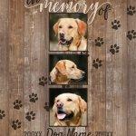 Custom Dog Memorial Keepsake Blankets